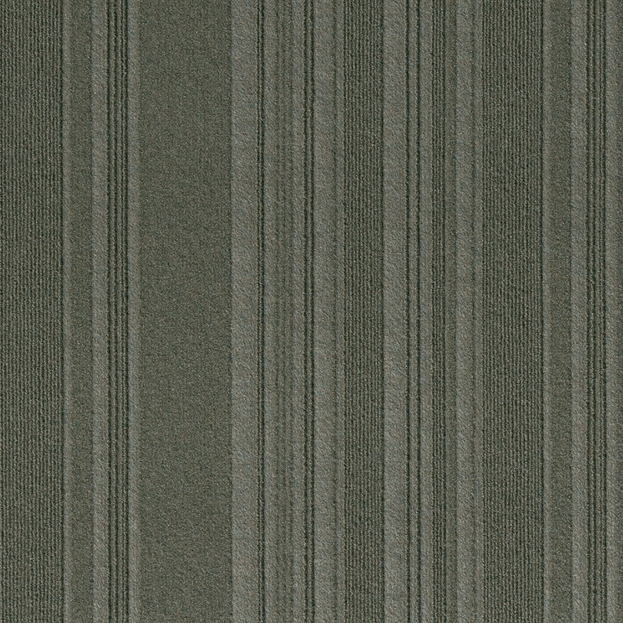 New Age 15-Pack 24-in x 24-in Olive Needlebond Peel-And-Stick Carpet Tile