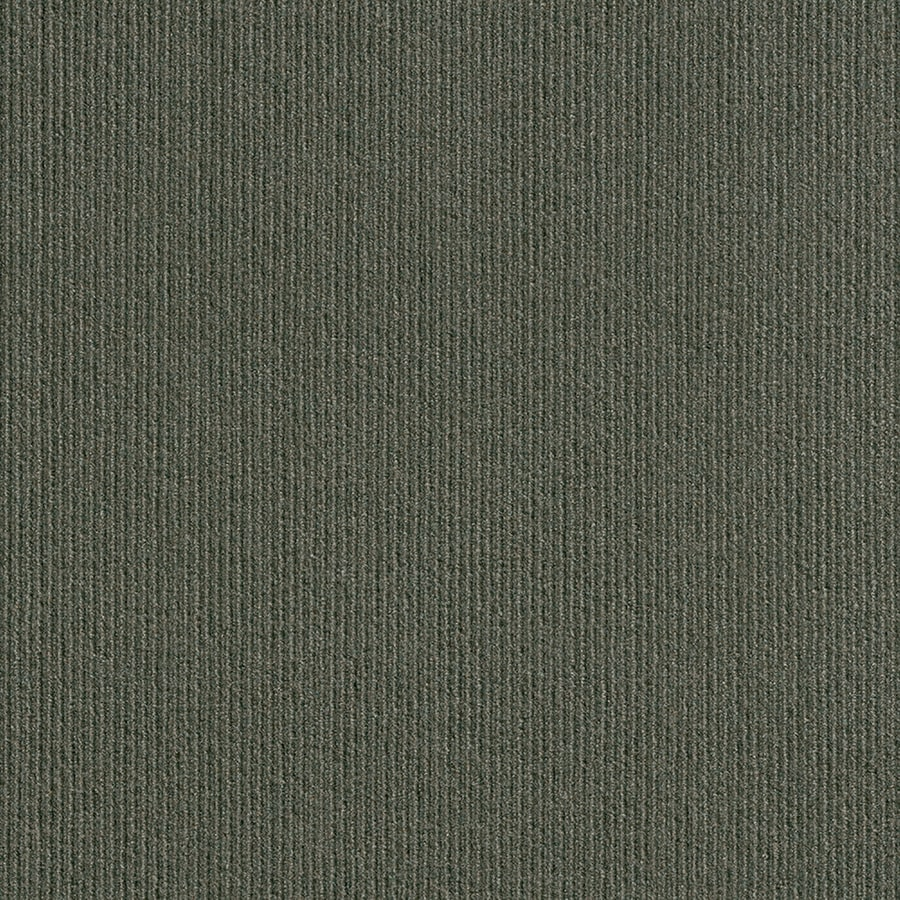 Vanguard 15-Pack 24-in x 24-in Olive Needlebond Peel-And-Stick Carpet Tile