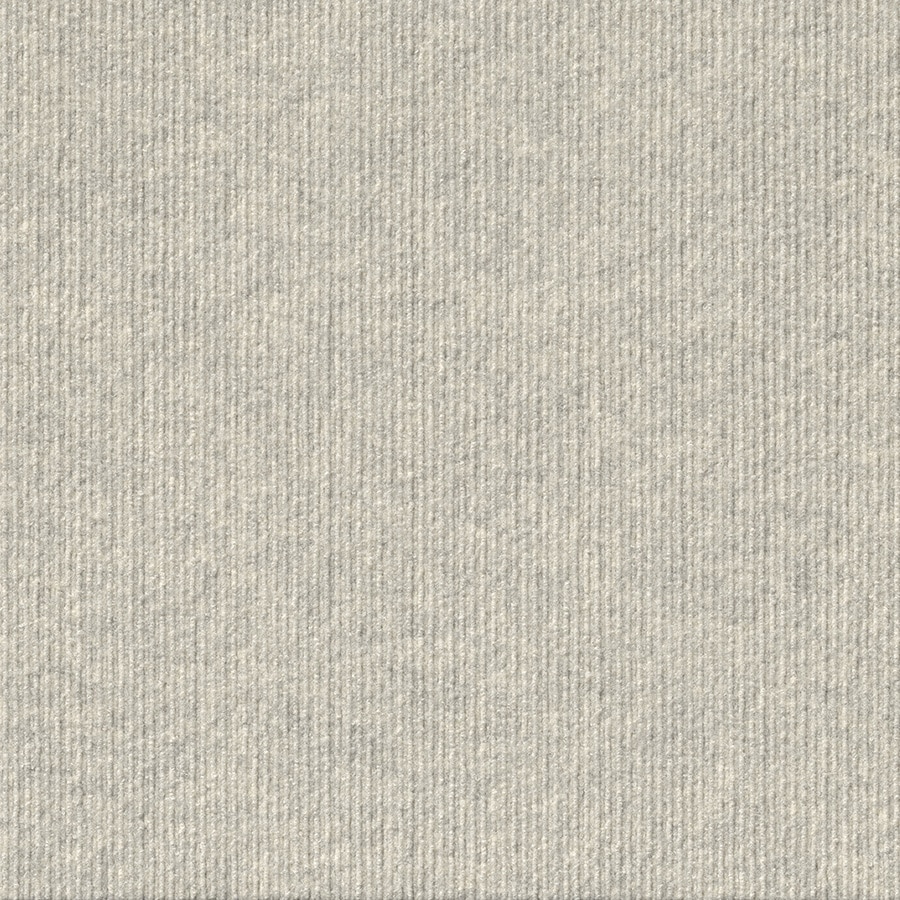 Vanguard 15-Pack 24-in x 24-in Oatmeal Needlebond Peel-And-Stick Carpet Tile