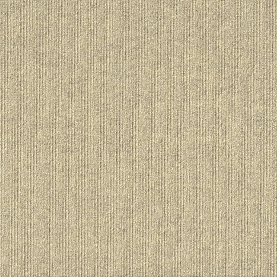 Vanguard 15-Pack 24-in x 24-in Ivory Needlebond Peel-And-Stick Carpet Tile