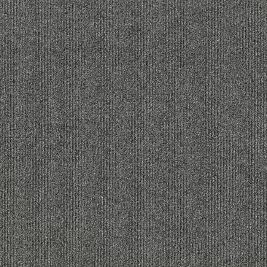 Vanguard 15-Pack 24-in x 24-in Sky Grey Needlebond Peel-And-Stick Carpet Tile