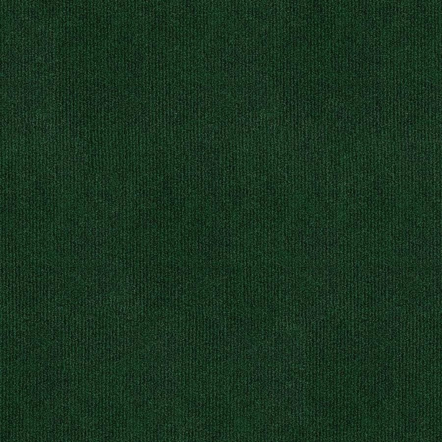 Home and Office Grassland 12-ft W x Cut-to-Length Heather Green Needlebond Interior/Exterior Carpet