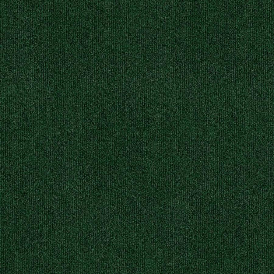 Home & Office Grassland 12-ft W x Cut-to-Length Heather Green Needlebond Interior/Exterior Carpet