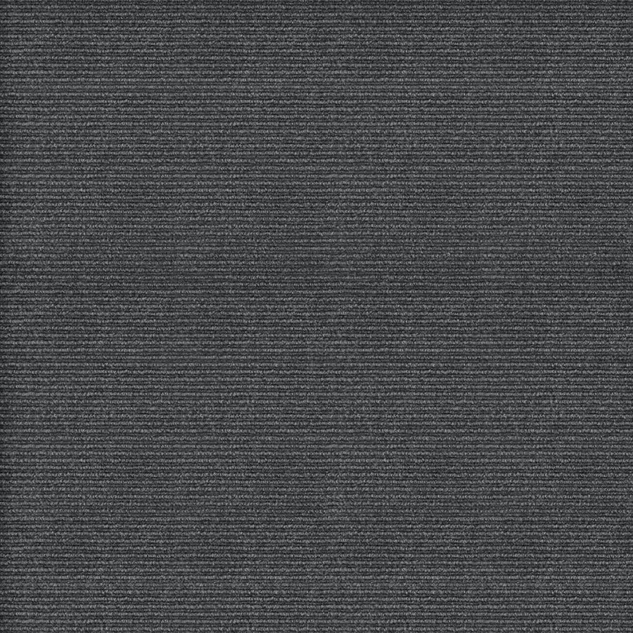 Home and Office Contemporary 12-ft W x Cut-to-Length Charcoal Needlebond Interior Carpet