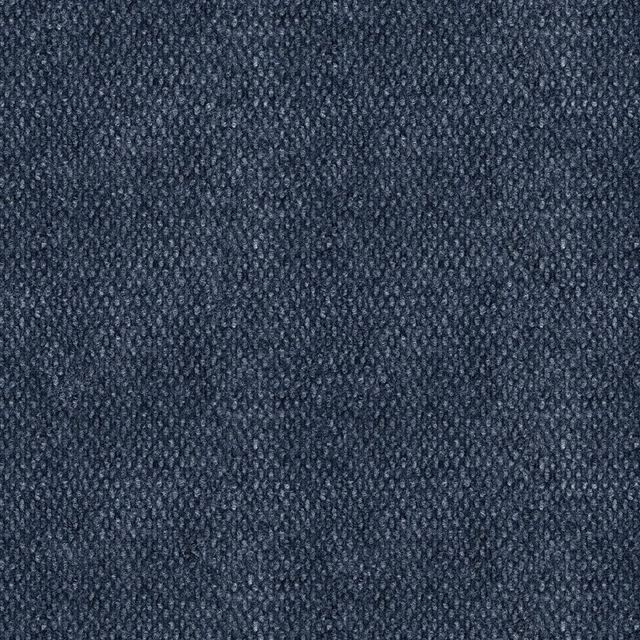 Home & Office Papago 12-ft W x Cut-to-Length Ocean Blue Needlebond Interior/Exterior Carpet