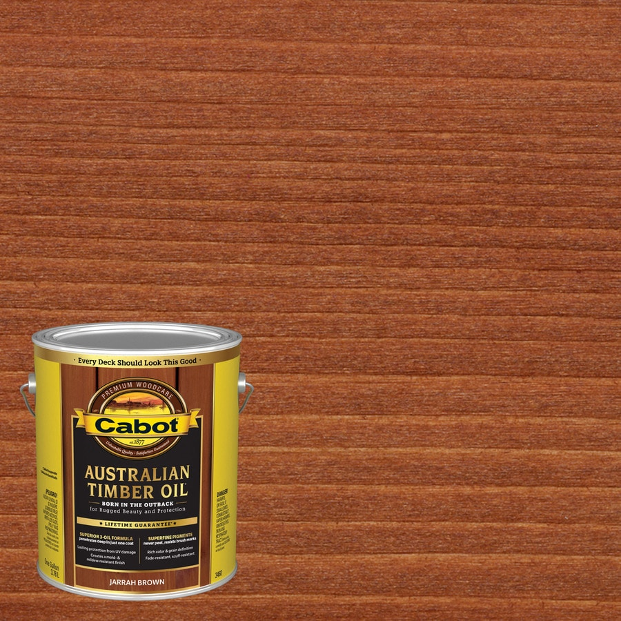 Shop Cabot Australian Timber Oil Pre Tinted Natural