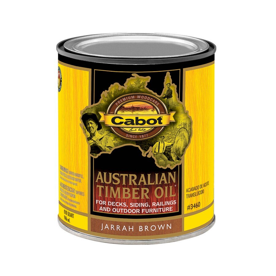 Cabot Australian Timber Oil Transparent Exterior Stain (Actual Net Contents: 32-fl oz)