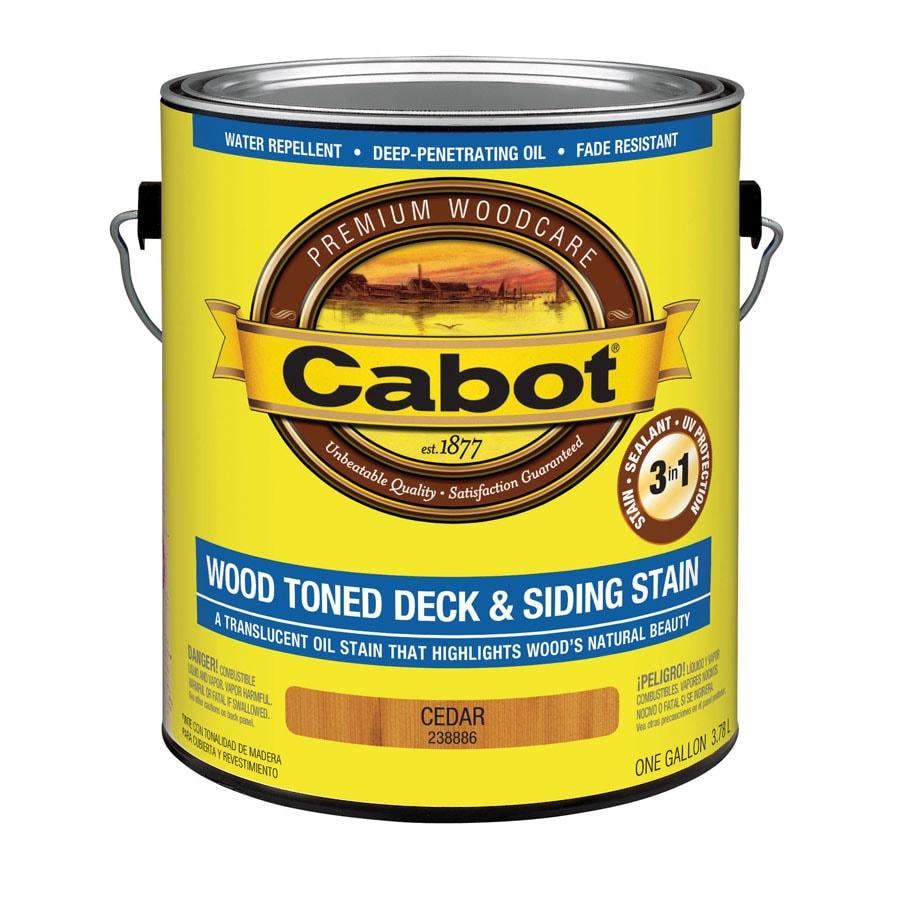 Cabot Cedar Toner Exterior Stain (Actual Net Contents: 128-fl oz)
