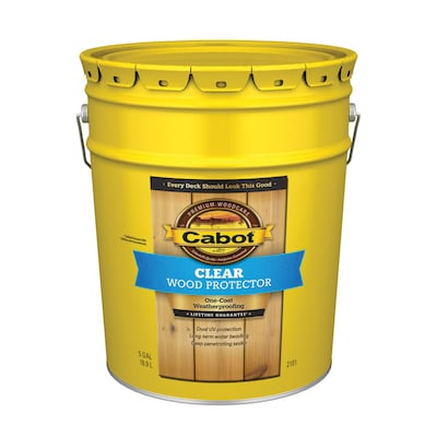 Cabot Wood Protector Clear Exterior Stain (5-Gallon)