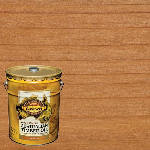 Cabot Australian Timber Oil Pre-Tinted Honey Teak
