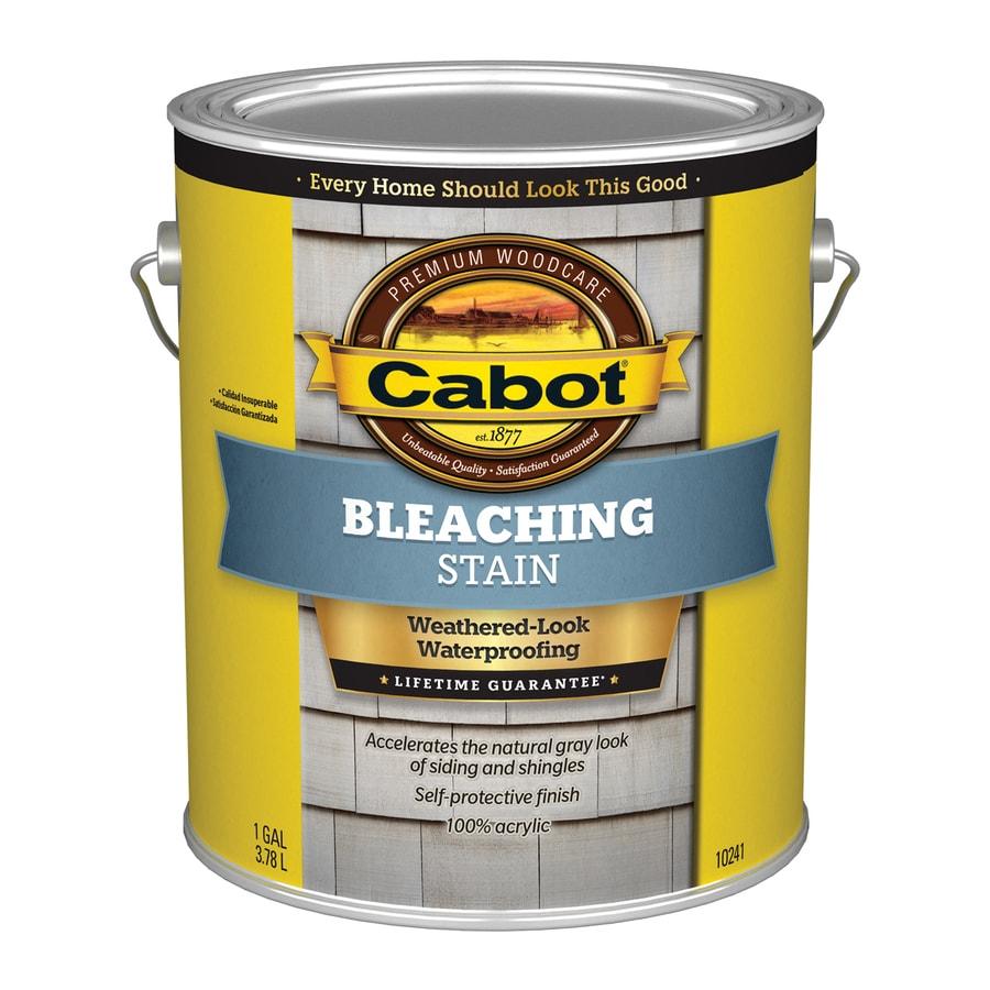 Valspar Bleaching Transparent Exterior Stain (Actual Net Contents: 128-fl oz)