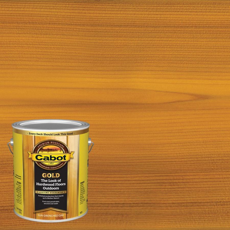 Cabot Sun Drenched Oak Toner Exterior Stain (Actual Net Contents: 128-fl oz)