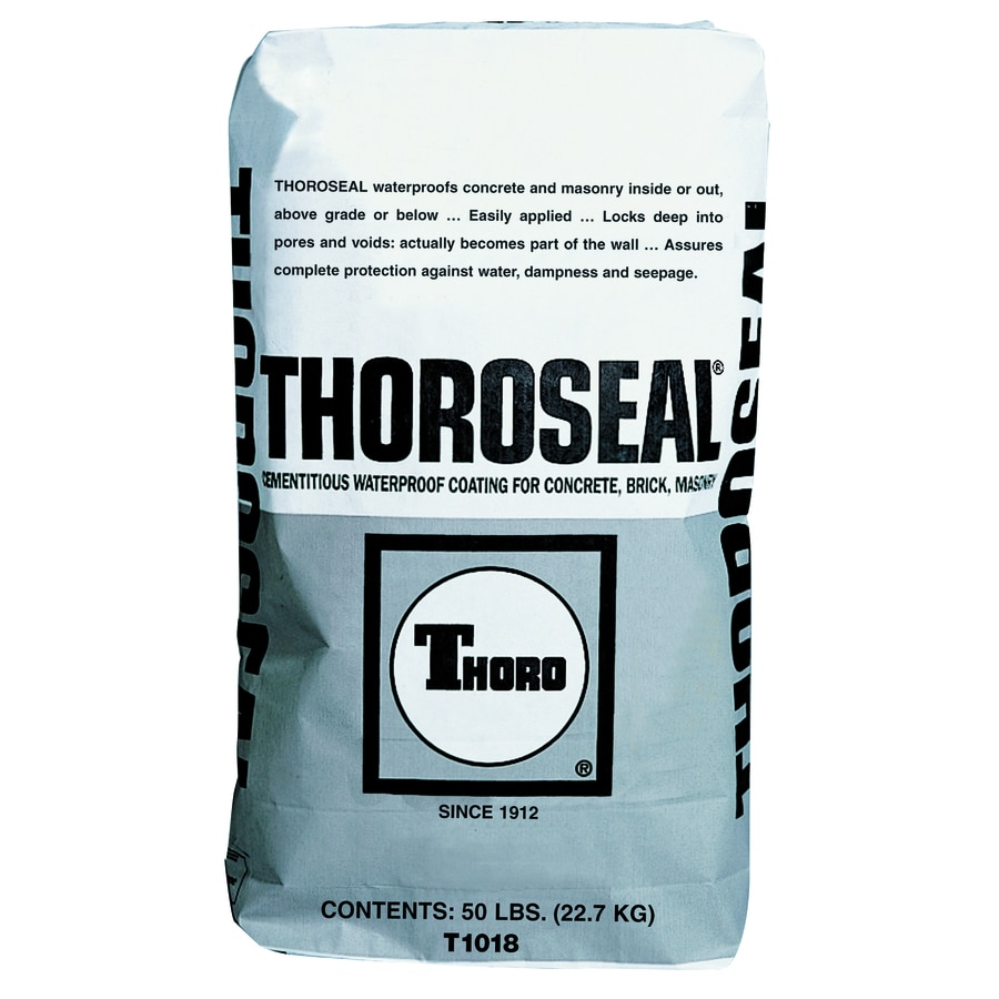ThoroSeal Gray Matte Textured Waterproofer (Actual Net Contents: 800-oz)