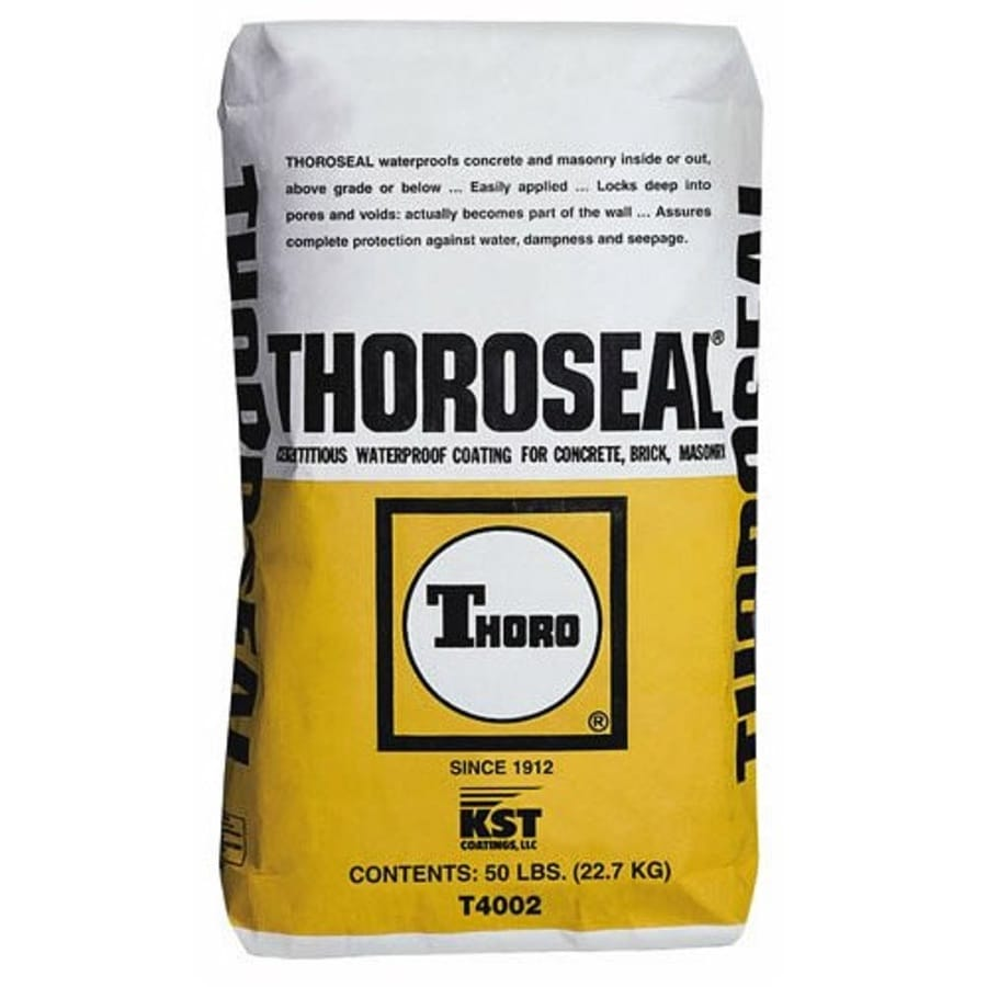 ThoroSeal Gray Textured Waterproofer (Actual Net Contents: 800-oz)