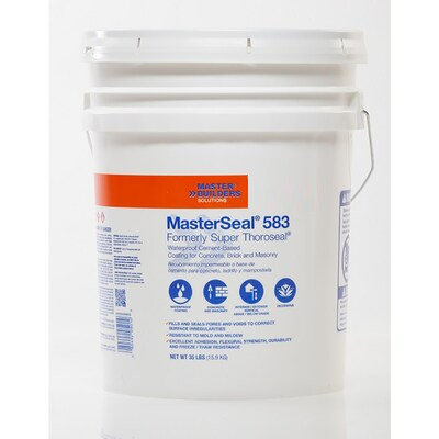 BASF Masterseal 583 White Matte Textured Waterproofer