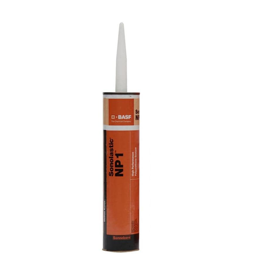 BASF NP1 10.1-oz Medium bronze  Paintable Advanced Sealant Caulk