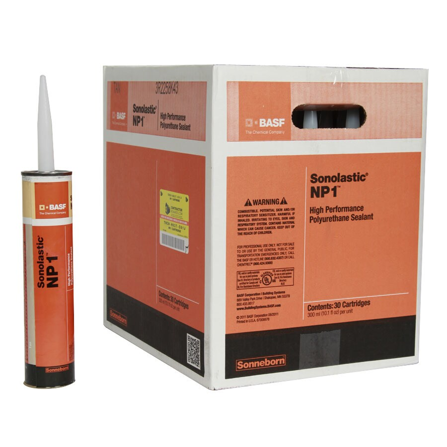 BASF NP1 303-oz Tan Paintable Polyurethane Window and Door Caulk