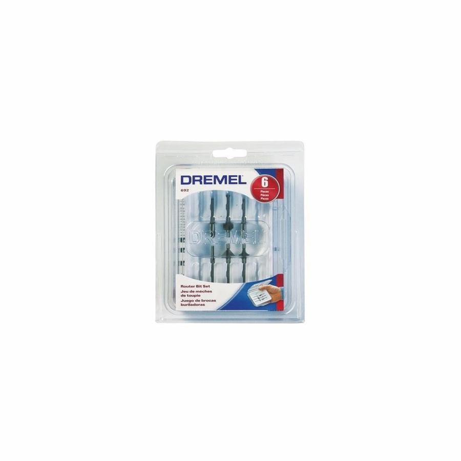 Dremel 6 Piece Router Bit Kit