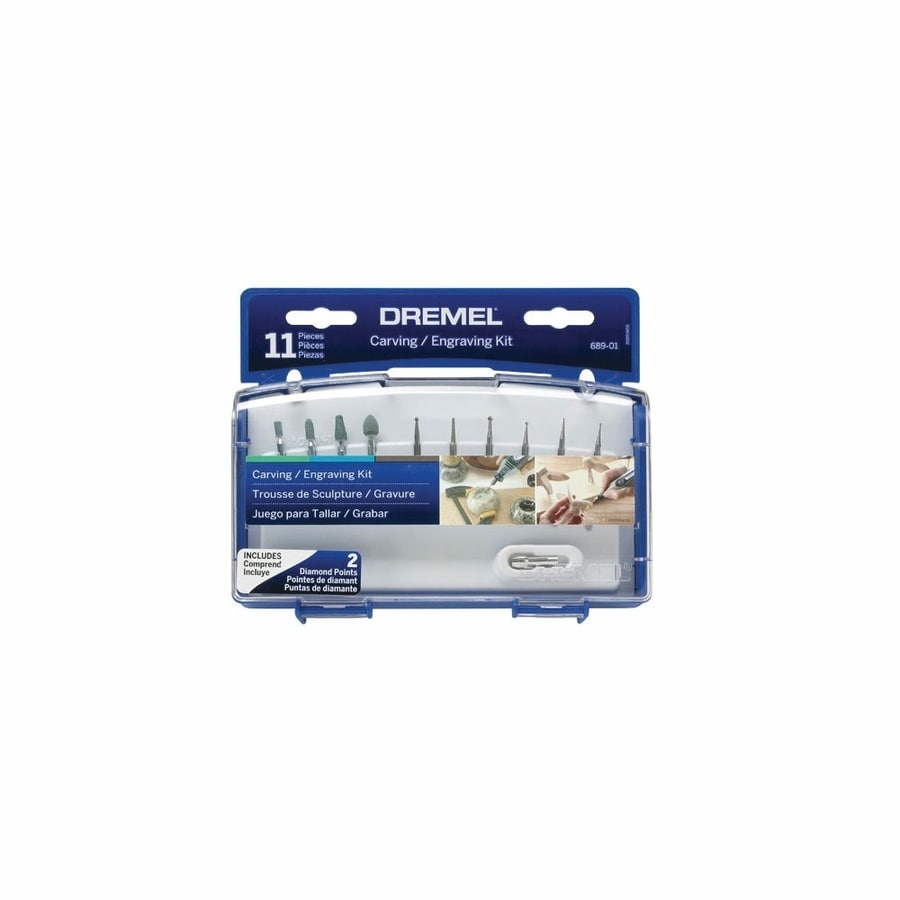 Dremel 11-Piece Tungsten Carbide Engraving Bits
