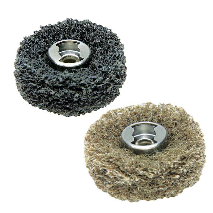 Dremel 2-Piece Fiber Abrasive Buff