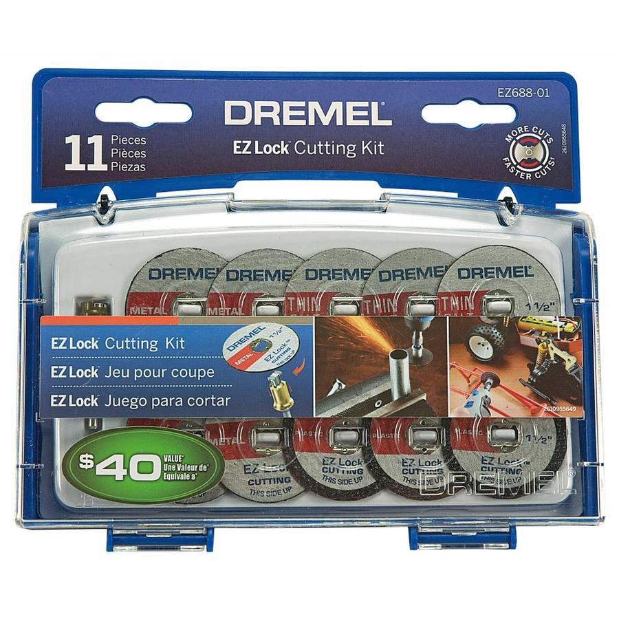 Dremel EZ Lock 11-Piece Fiber 1-1/2-in Cut-Off Wheel Set
