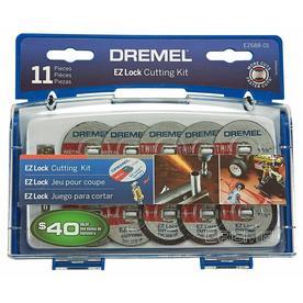 Dremel EZ Lock 11-Piece Set 1-1/2-in Multipurpose Accessory