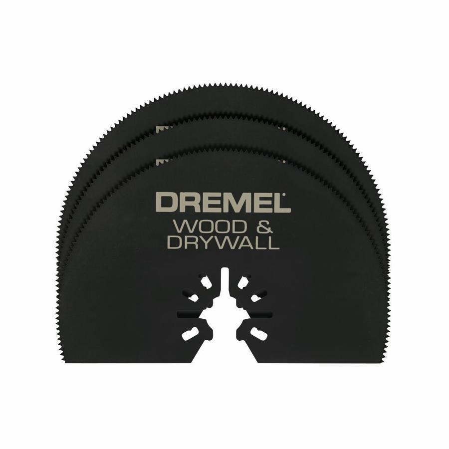 Dremel 3-Pack High Speed Steel Oscillating Tool Blades