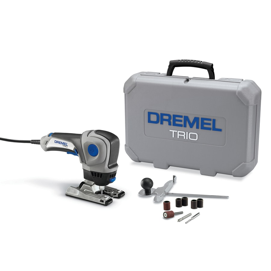 Dremel Trio 10-Piece Multipurpose Rotary Tool Kit