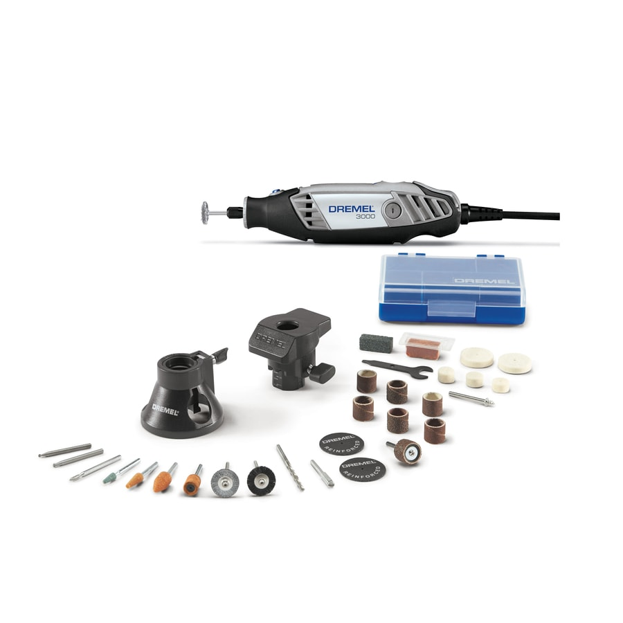 Dremel 3000 Series 31 Piece Multipurpose Rotary Tool Kit At Lowes Com