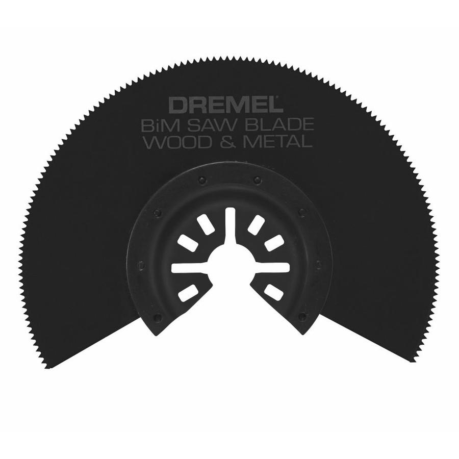 Saw Blade Fan : Shop dremel bi metal oscillating tool blade at lowes