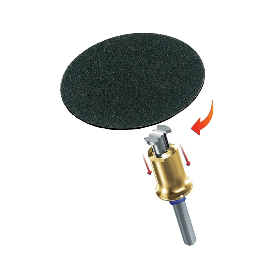 Dremel 5-Piece Fiber Sanding Bits