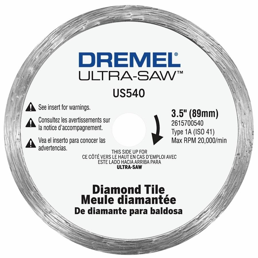 Shop Dremel Diamond Grit 3 12 In Cutting Wheel At Lowes
