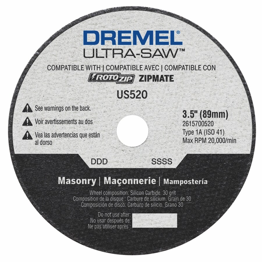 Dremel Aluminum Oxide 3-1/2-in Cutting Wheel