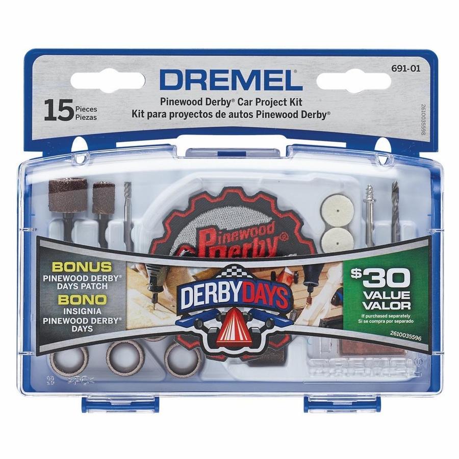 Dremel Kid's Beginner Dremel Pinewood Derby Project Kit