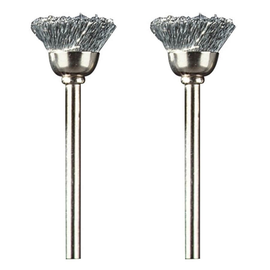 Dremel 2-Piece Steel 1/2-in Brush Bits