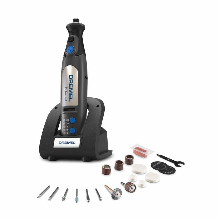 Dremel Micro 18-Piece Variable Speed Multipurpose Rotary Tool Kit