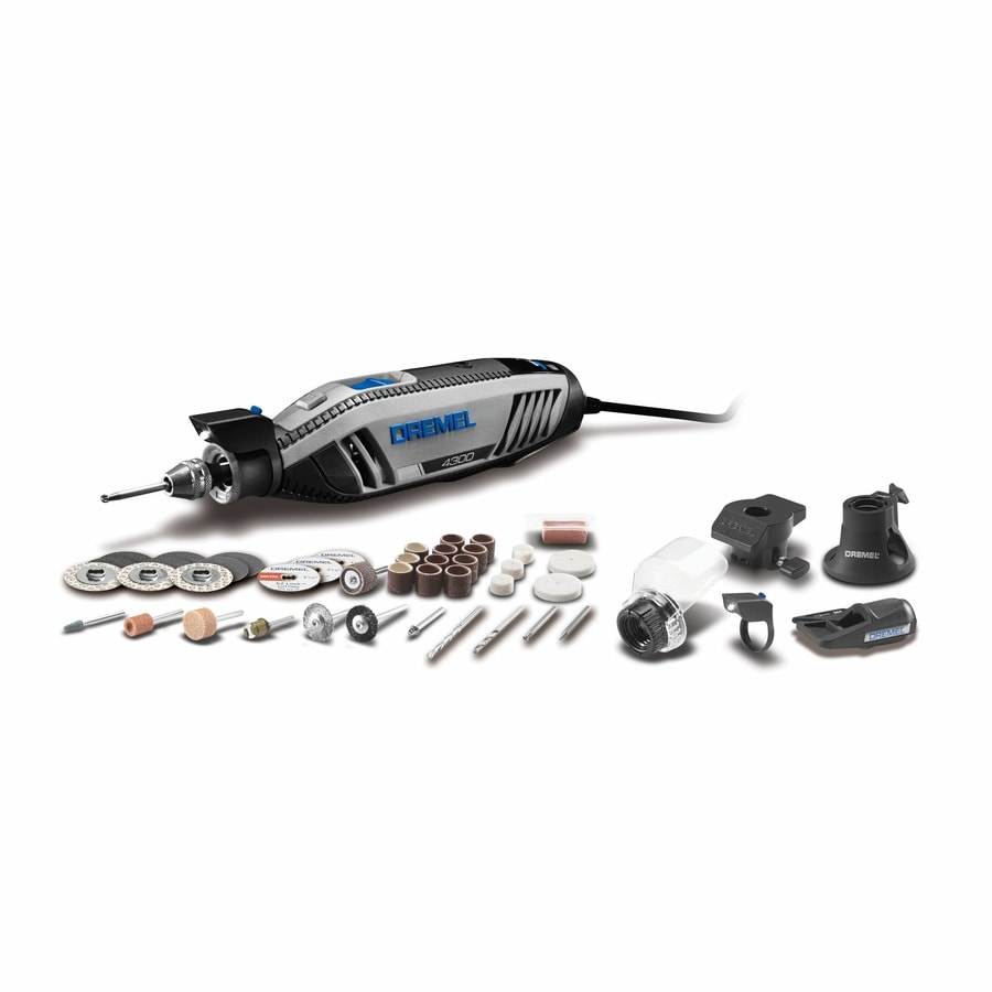 Dremel 4300 Series 47-Piece Variable Speed Multipurpose Rotary Tool Kit with Hard Case