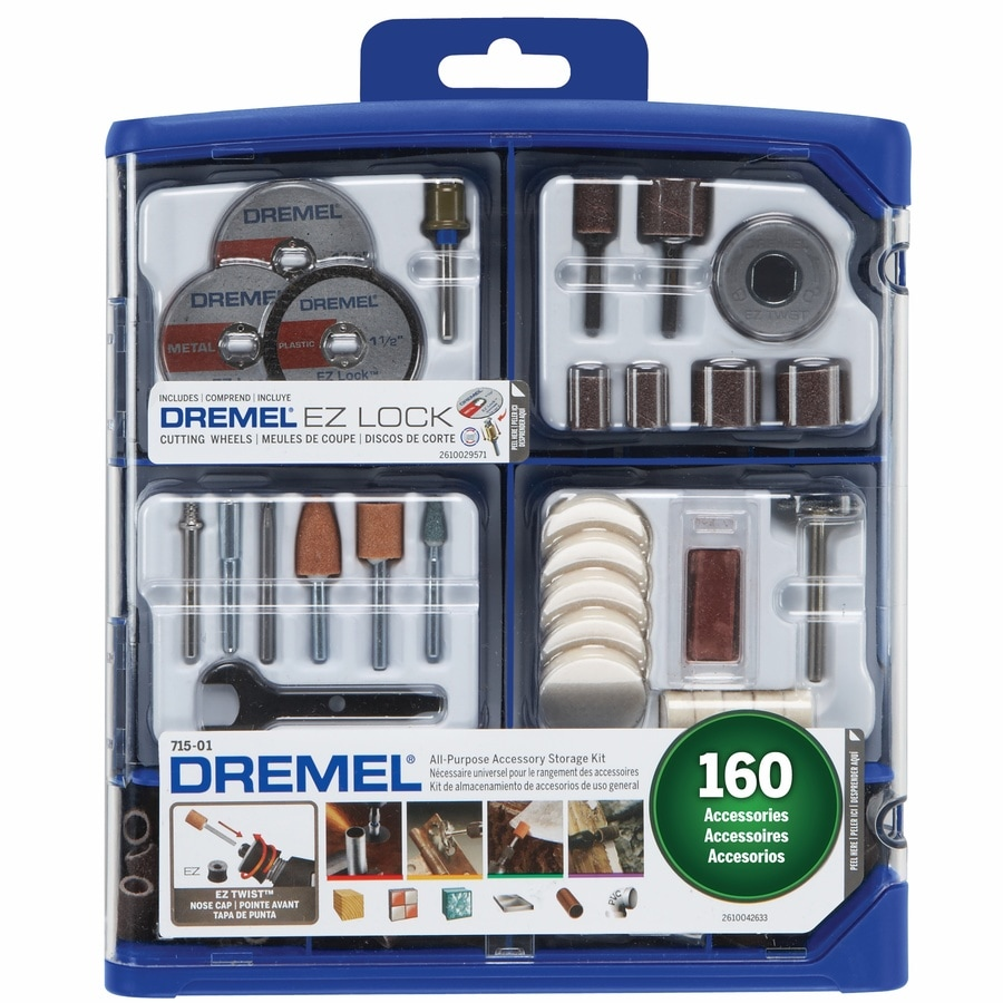 Superbly Dremel 160-Piece Aluminum Oxide Set Multipurpose Accessory Kit at IN66