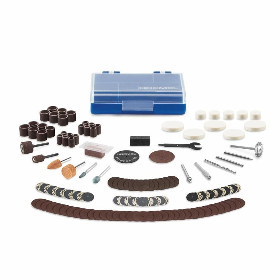 Dremel 130-Piece Rotary Accessory Kit with Case