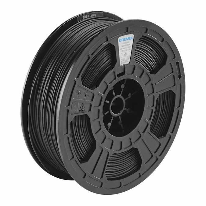 Dremel ECO-ABS Black 0.75kg Filament In The Home 3D