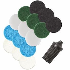 Dremel Versa Accessory Mega Kit, 15 Pads (5 Different Types), 1 Corner Brush, 1 Textile Bag, Versa Accessory Quick Start Guide