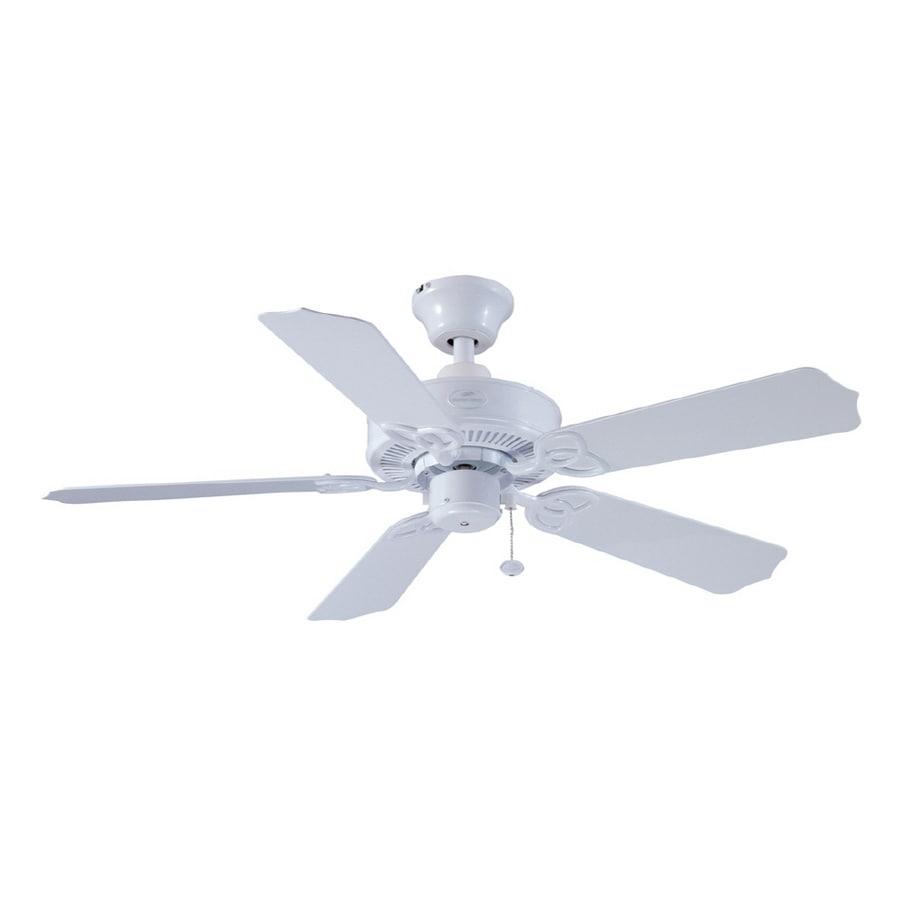 Harbor Breeze 42 Calera White Ceiling Fan At Com