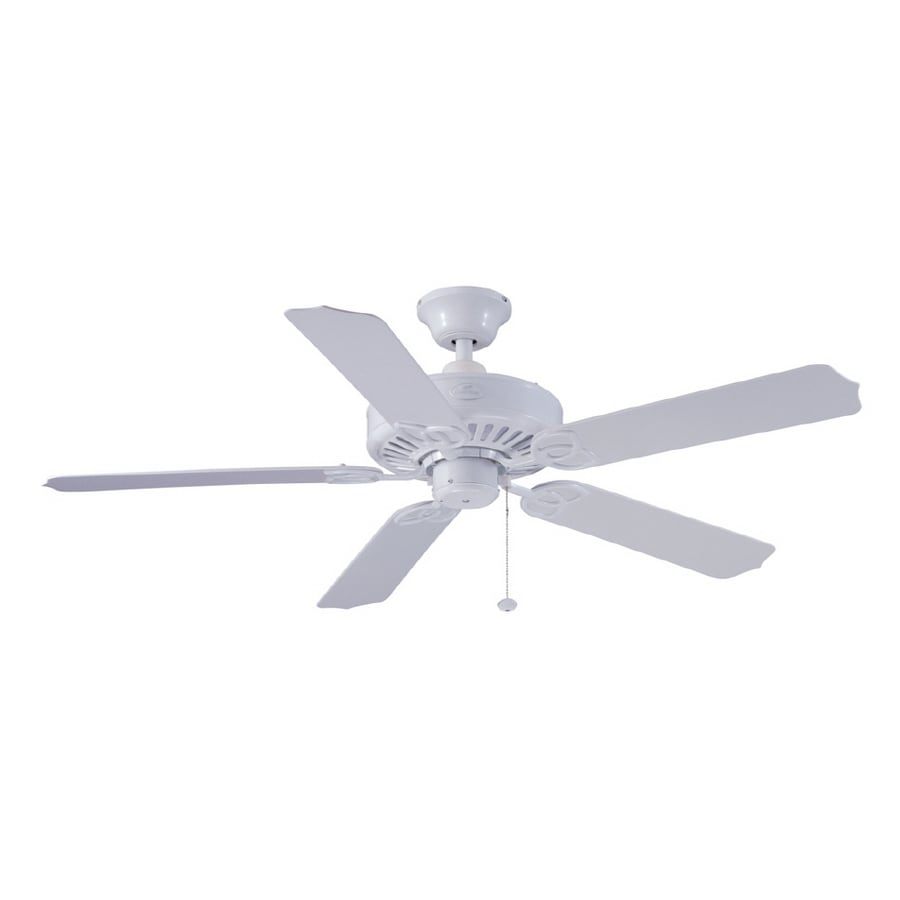 Shop harbor breeze 52 calera white ceiling fan energy star at harbor breeze 52 calera white ceiling fan energy star aloadofball Image collections