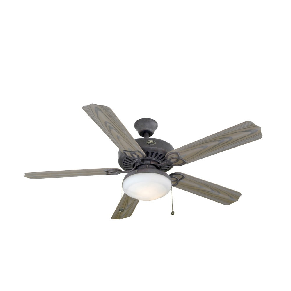"shop harbor breeze® 52"" tebron garden outdoor ceiling fan at lowes"