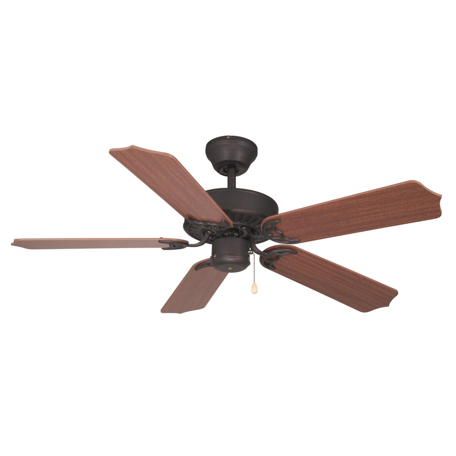Litex 42-in Ultimate Aged Bronze Ceiling Fan