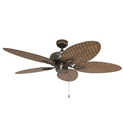 Tilghman Ii 52 In Bronze Indoor Outdoor Residential Ceiling Fan With Adaptable Light Kit 5 Blade
