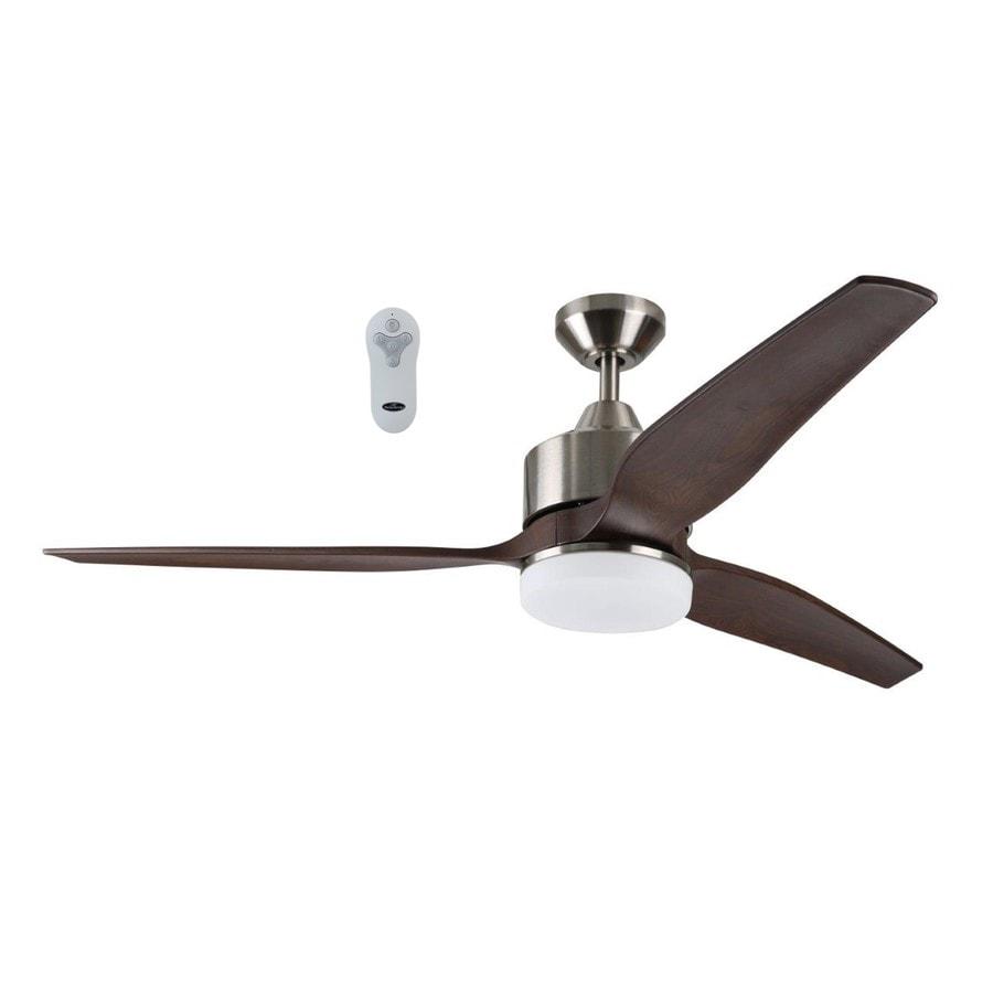 Harbor Breeze Fairwind 60-in Brushed Nickel LED Indoor