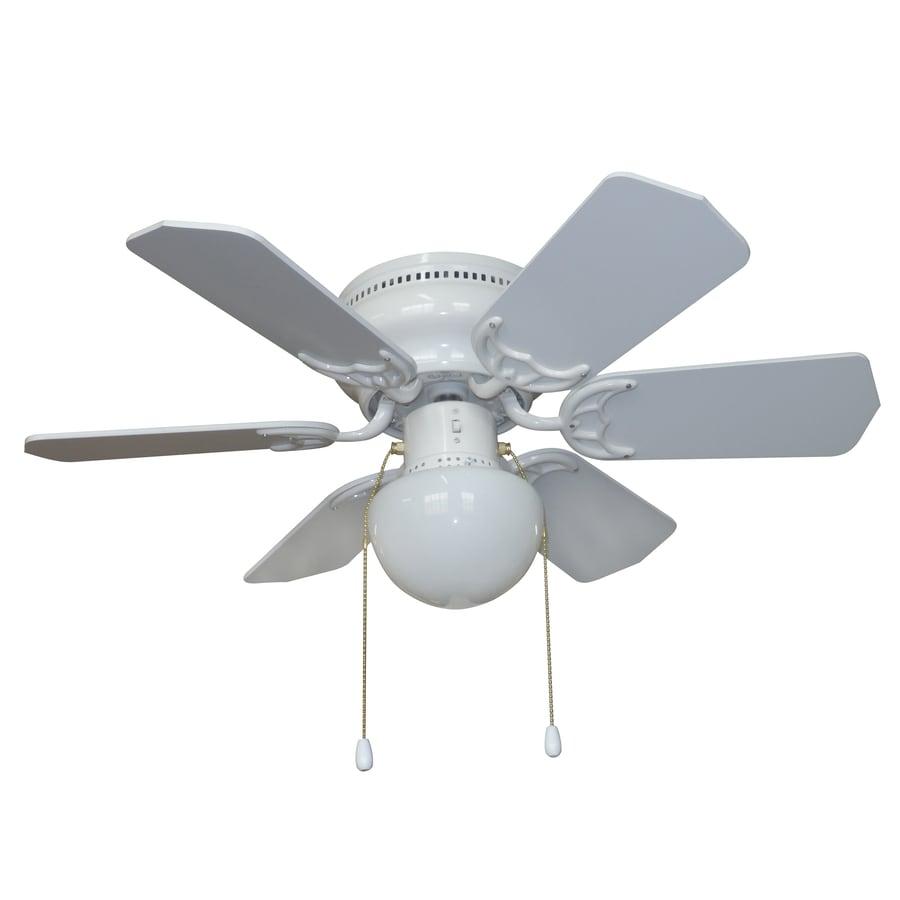 Litex Vortex 30 In White Led Indoor