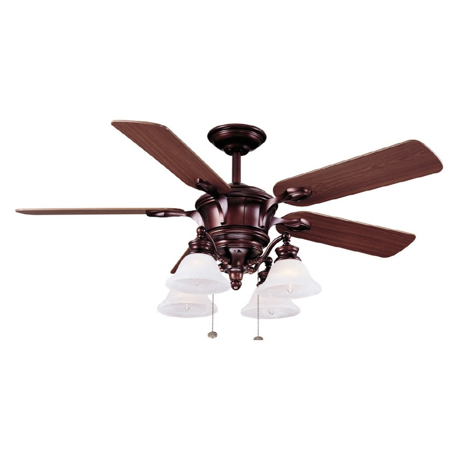 Shop Harbor Breeze 52 Quot Bellhaven Bronze Ceiling Fan At