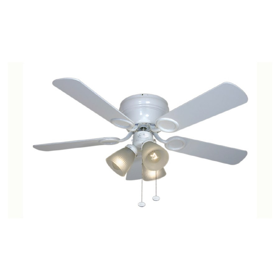 "Harbor Breeze 42"" Cheshire White Ceiling Fan At Lowes.com"